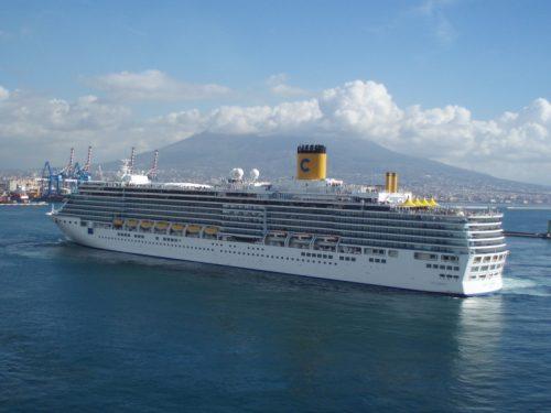 Savona: poker di navi Costa!