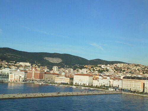 Costa Fascinosa lascia Trieste…bye,bye!