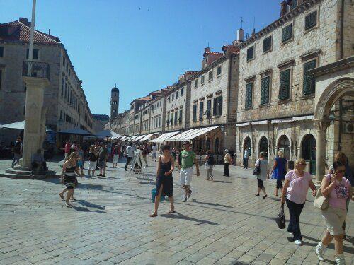 Dubrovnik…patrimonio dell'umanita'