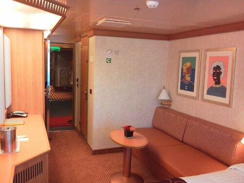 Costa fascinosa panoramica cabine crociera ndo for Cabina interna su una nave da crociera