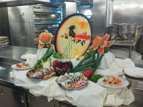 CostaClub Gold Pearl: visita alle cucine di bordo!