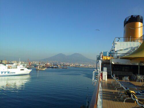 Costa Deliziosa a Napoli!